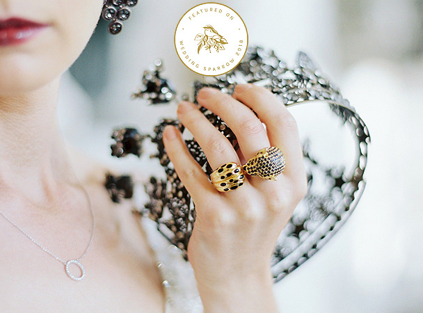 Aynhoe Park statement ring and crown