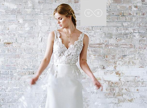 Bride wearing Rime Arodaky