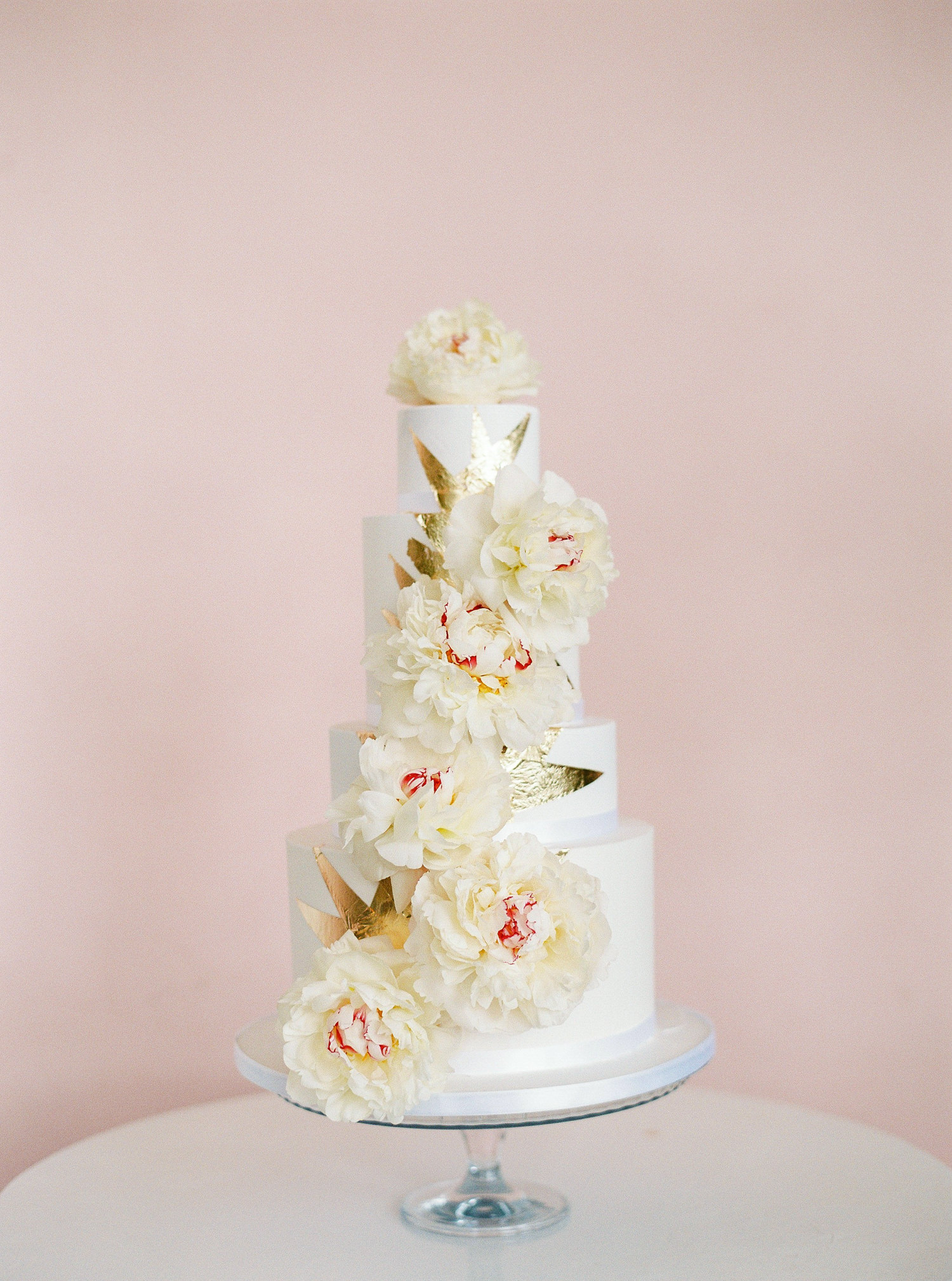 wedding cake, Princess Patisserie, real flower wedding cake