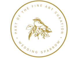 Wedding Sparrow Badge