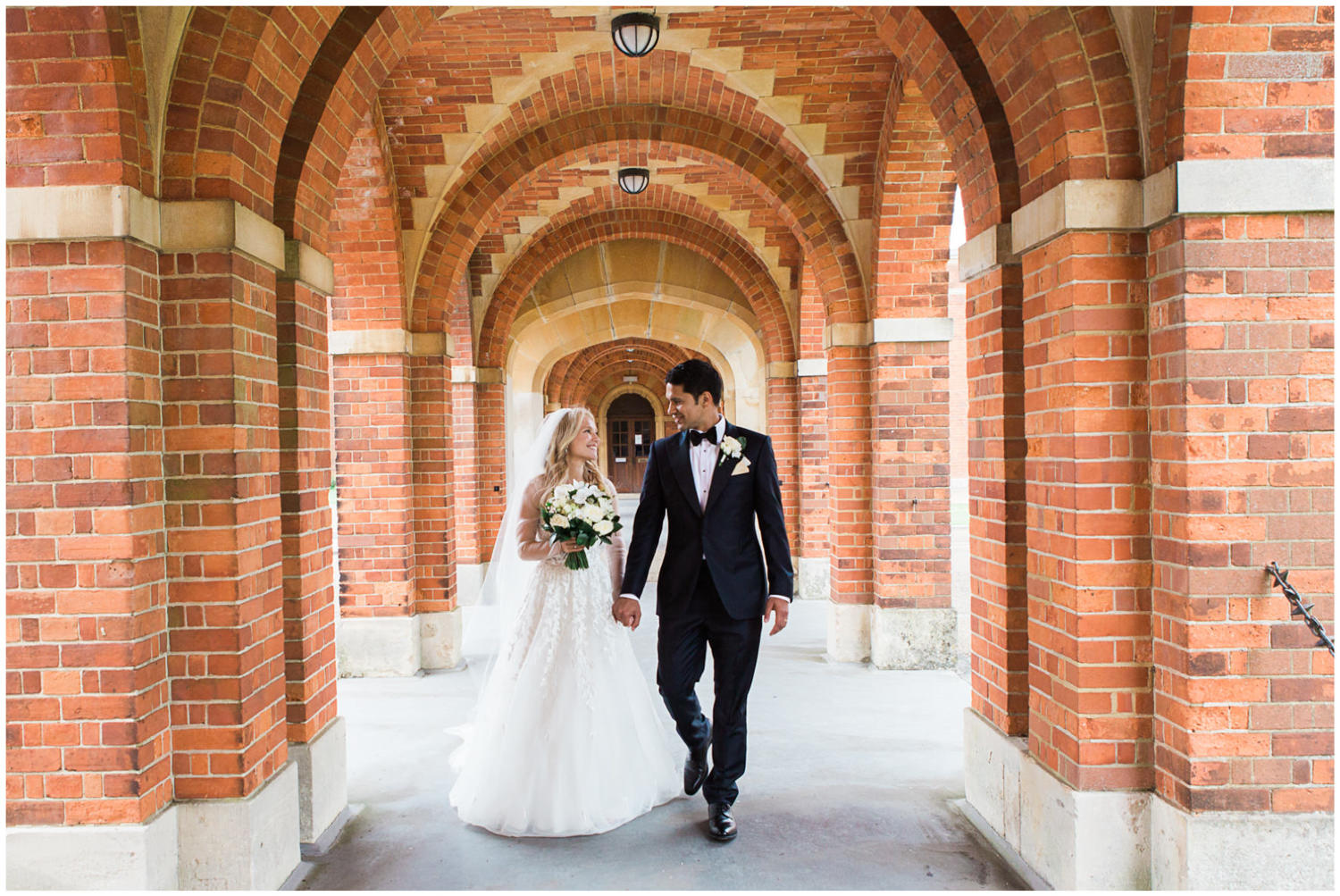 Bride and groom couple shots, Classic wedding at Christ Hospital School with bride wearing Mira Zwillinger, Lucy Davenport Photography, Classic wedding