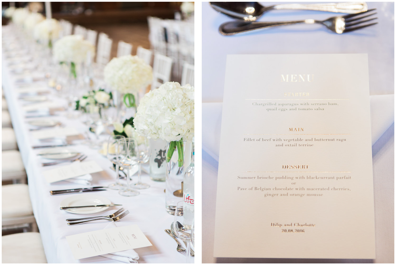 Classic wedding tablescape and stationery, Lucy Davenport Photography, Classic wedding