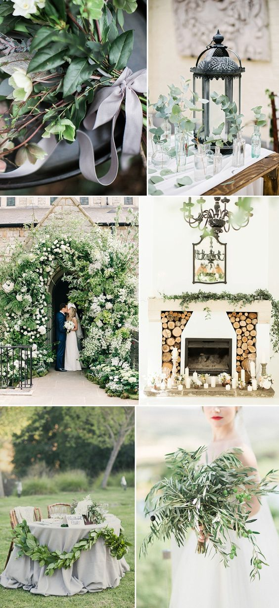 Pantone greenery, 2017 trend, Rock My Wedding