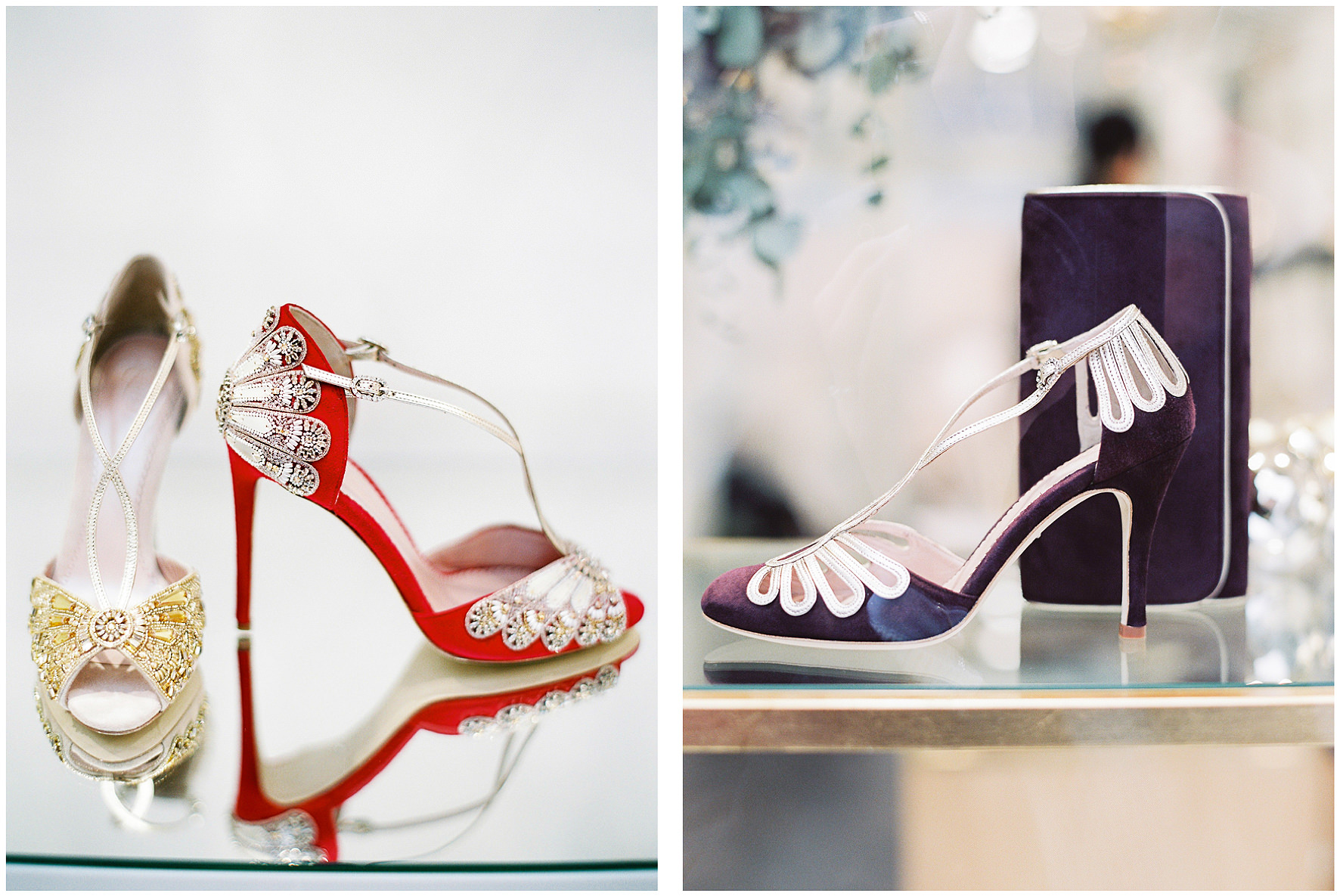 Emmy London, Emmy, Bridal shoes, boutique, wedding shoes, flagship store, Fulham Road, Chelsea Collection, evening collection. Lucy Davenport Photography