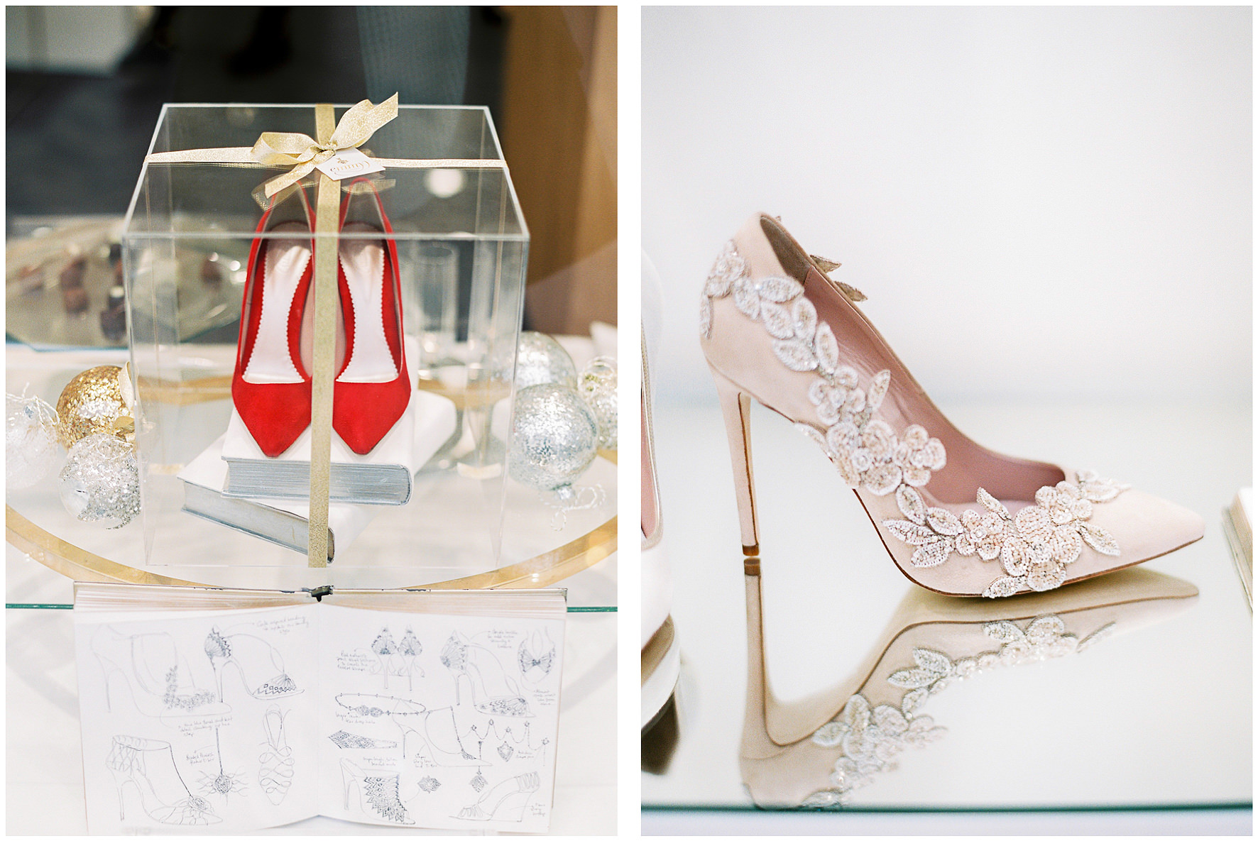 Emmy London, Emmy, Bridal shoes, boutique, wedding shoes, flagship store, Fulham Road, Chelsea Collection, baby shoes, flower girl shoes. Lucy Davenport Photography