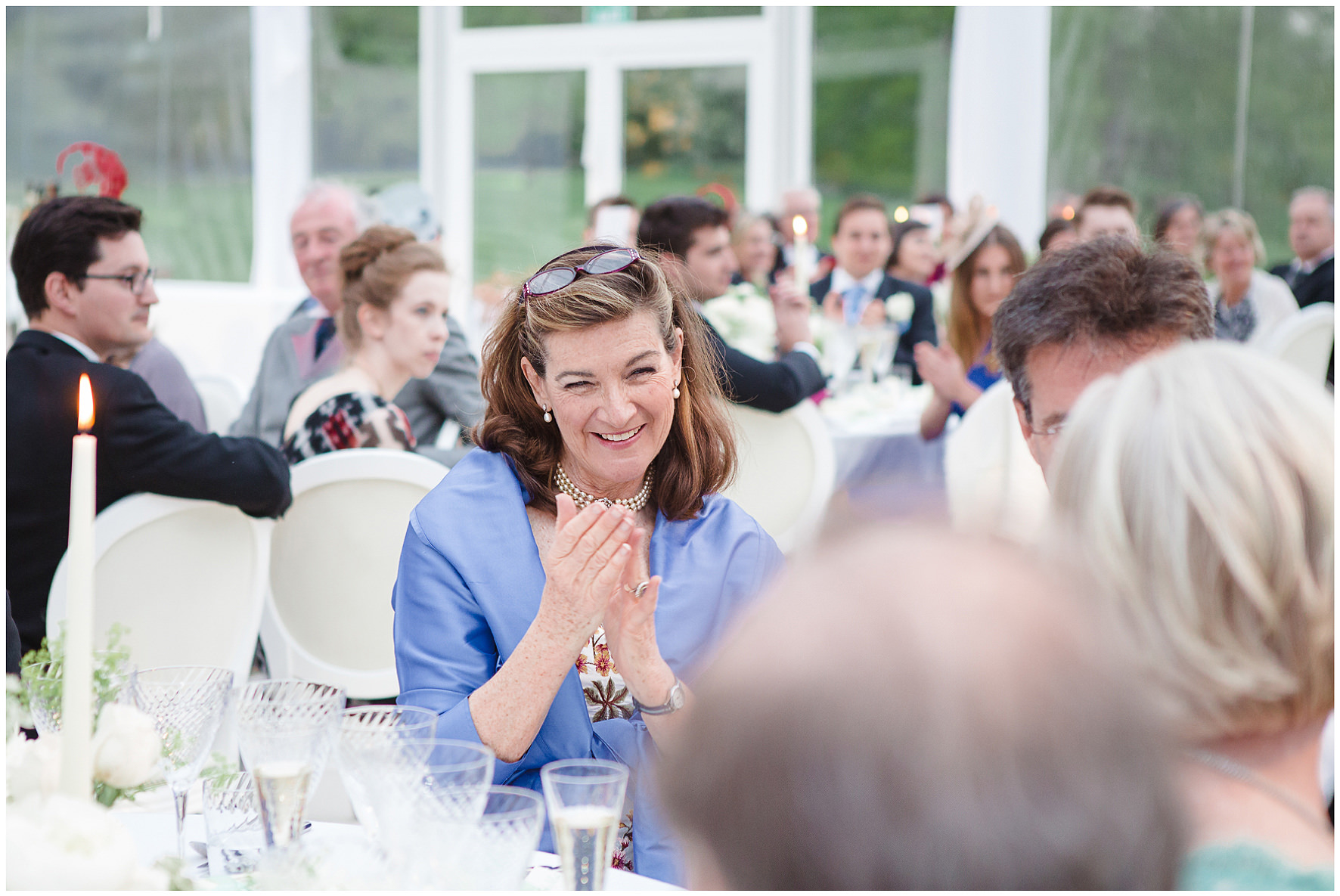 luxury wedding, berkshire, home wedding, wedding breakfast, speeches, Lucy Davenport Photography