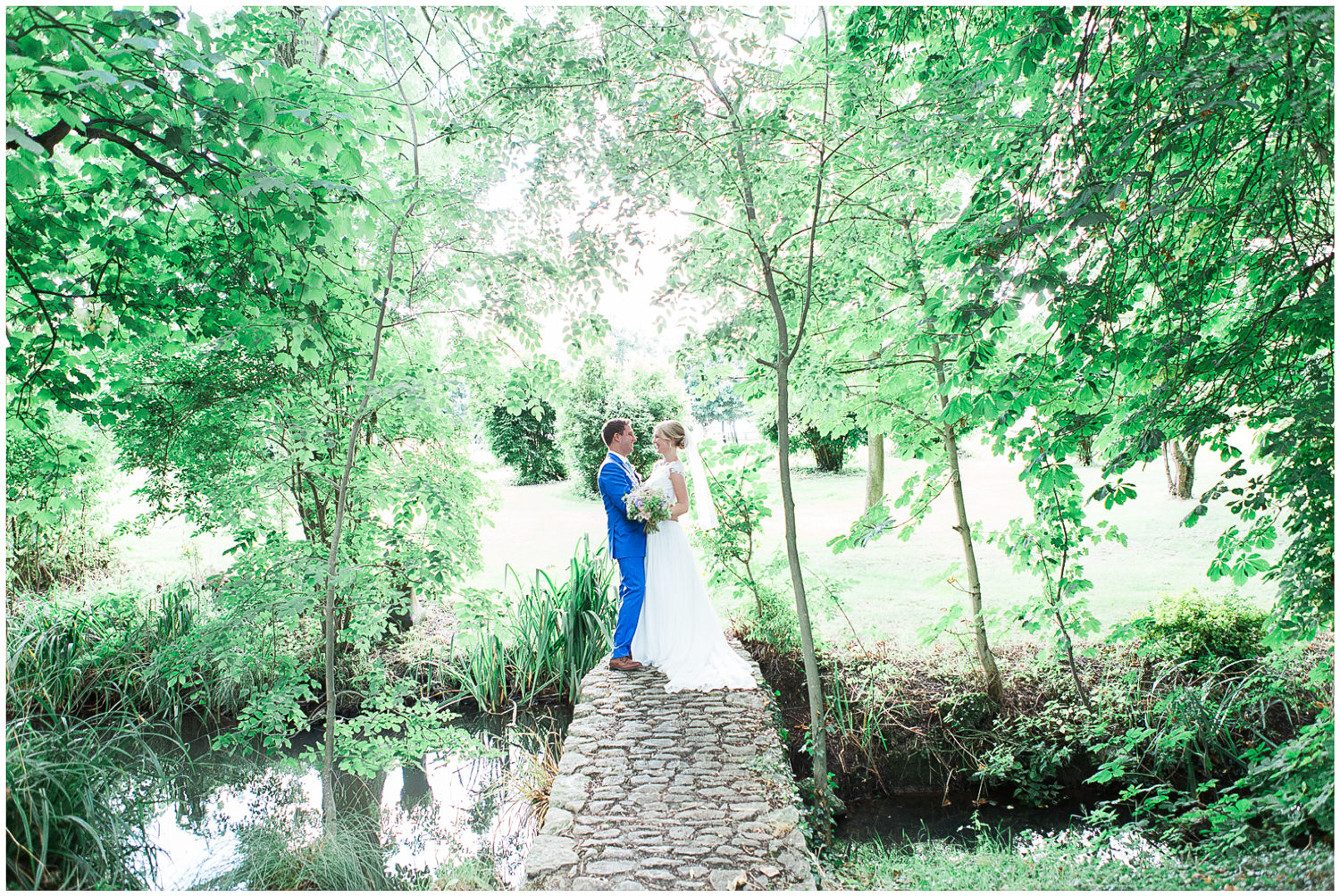 bride and groom, bridal couple, gardens
