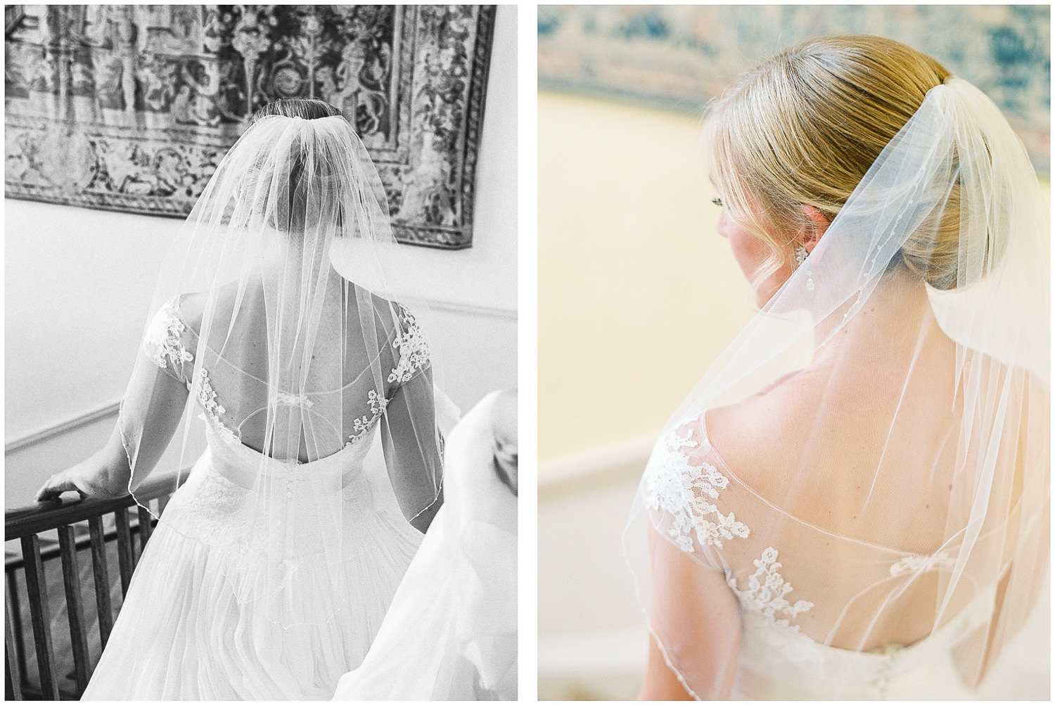 newington house, wedding dress, Naomi Neoh, bride, veil
