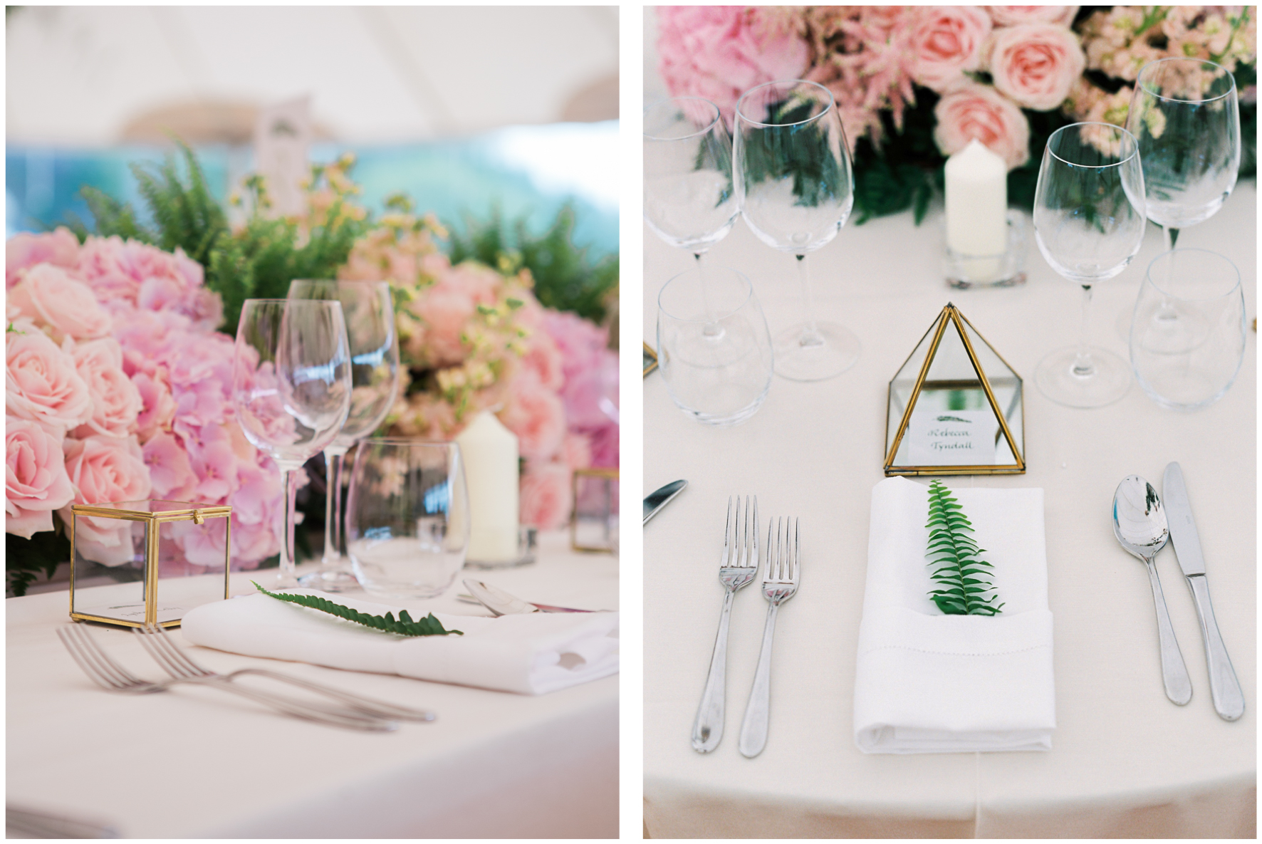 glamping wedding, Lucy Davenport Photography, home wedding, Sperry tent, PapaKata, ferns, greenery,