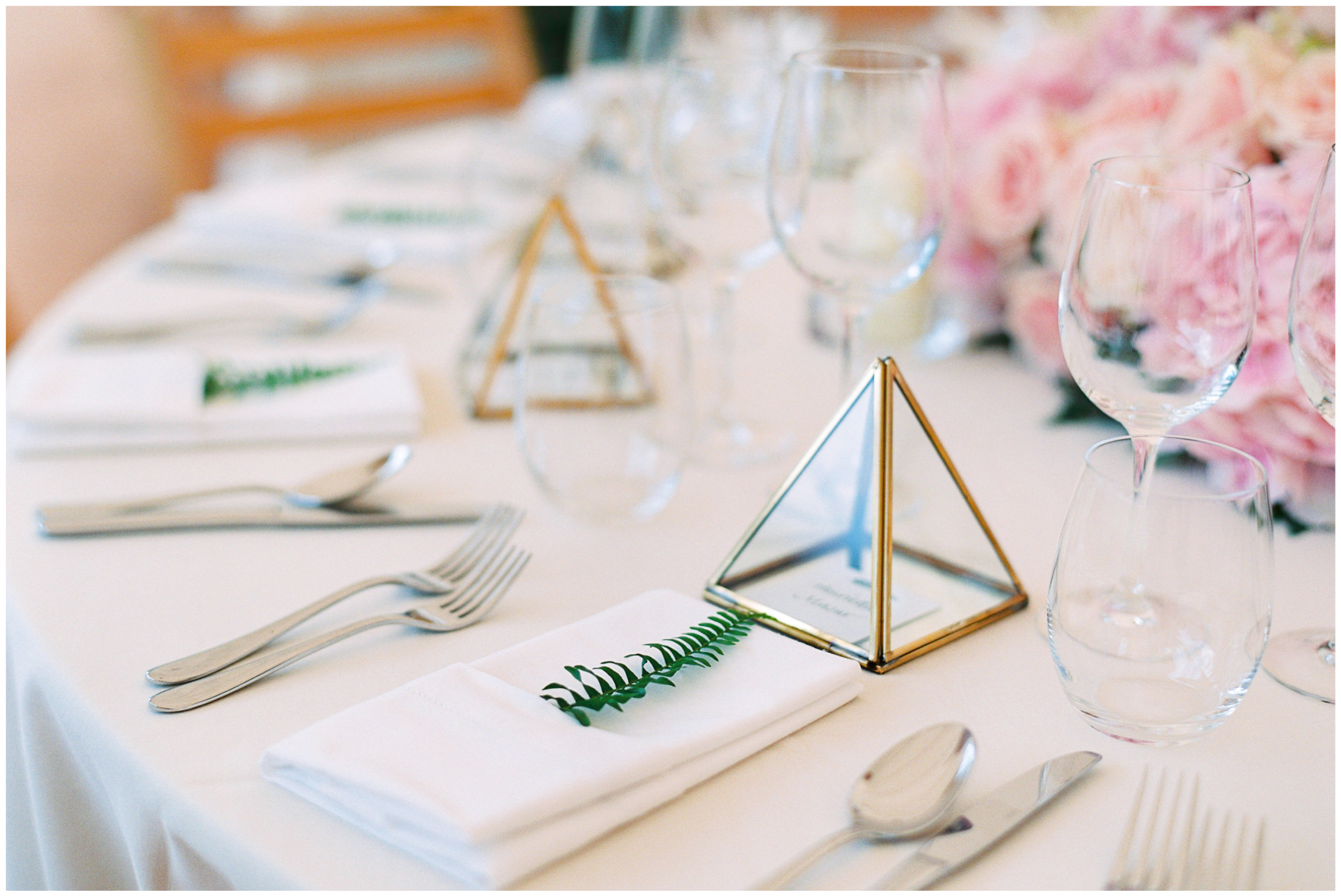 glamping wedding, Lucy Davenport Photography, home wedding, Sperry tent, PapaKata, glass favour, greenery