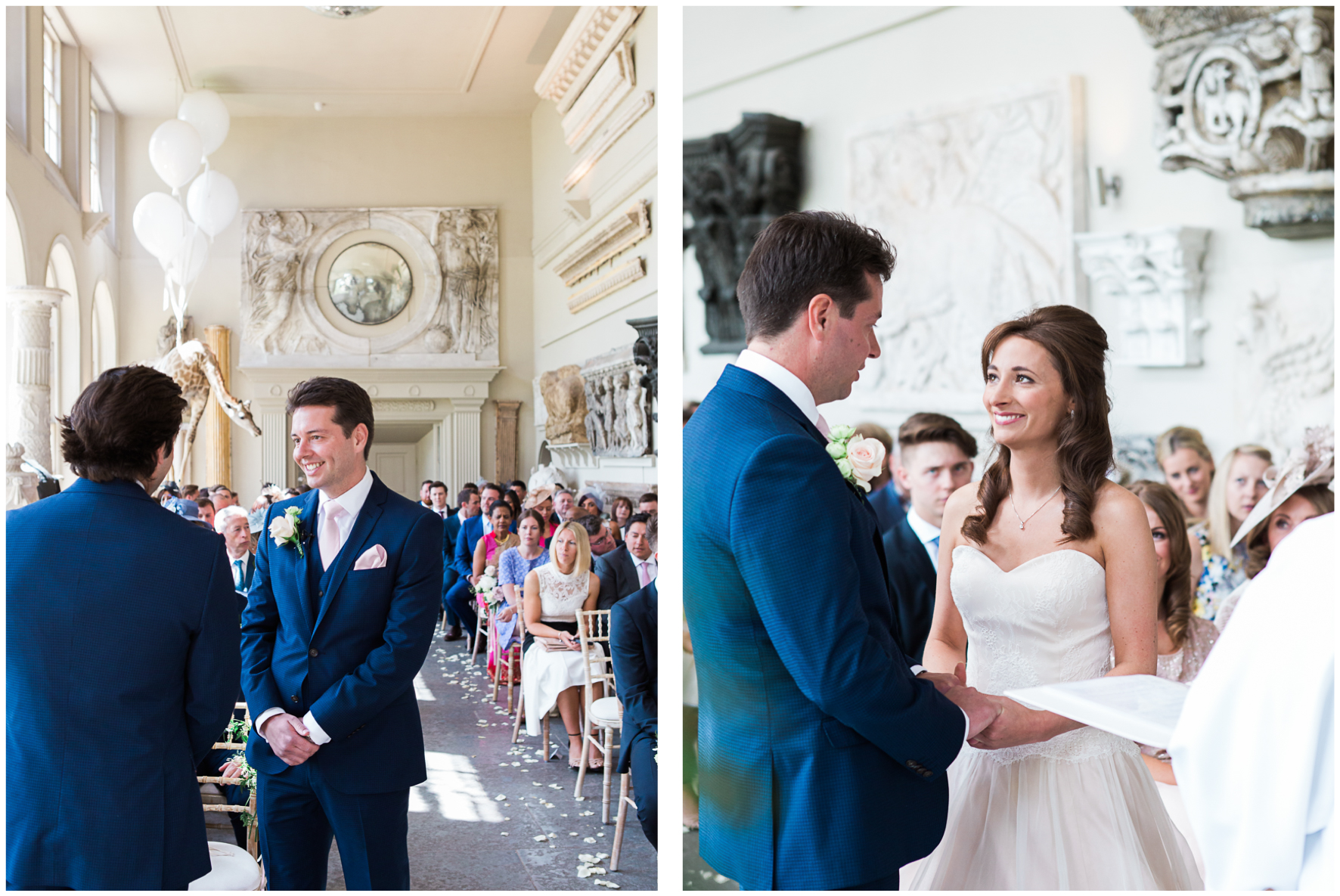 Aynhoe Park wedding ceremony,