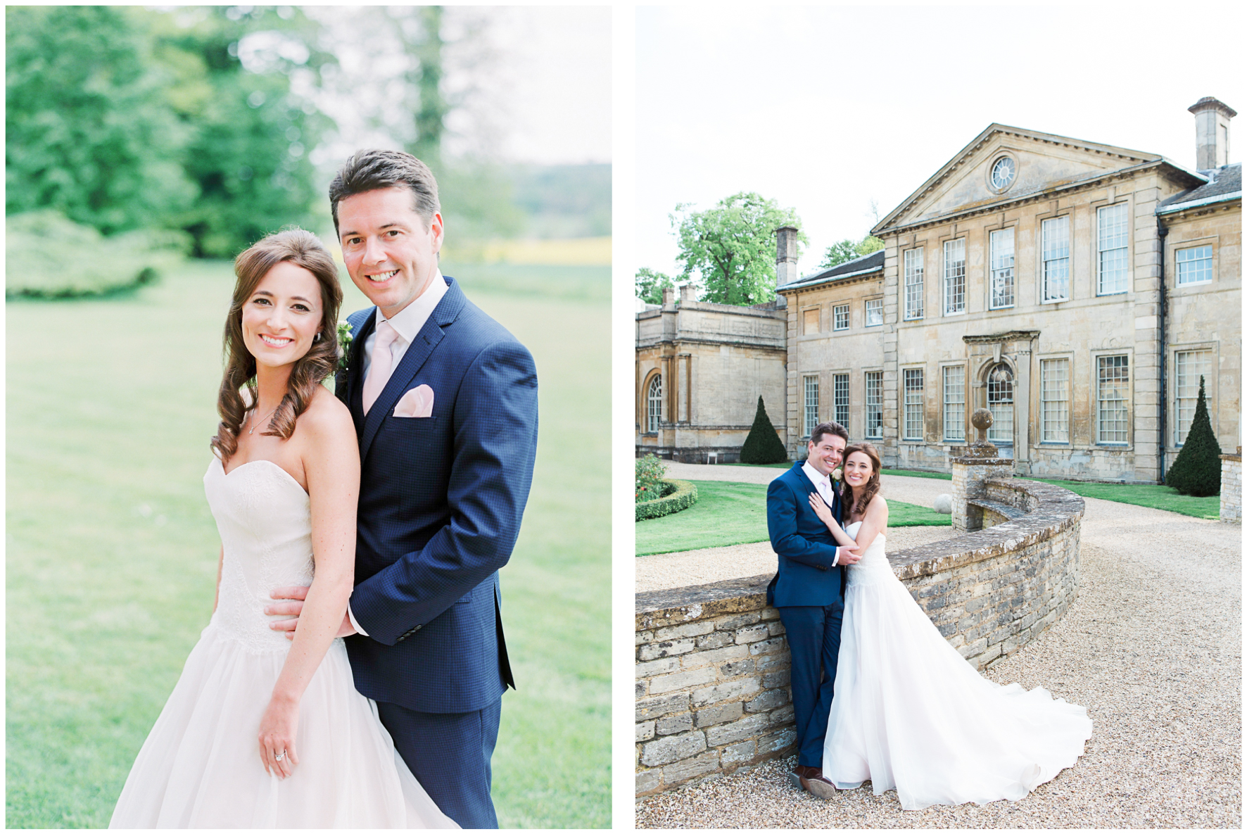 Lucy Davenport Photography, Aynhoe Park, bride and groom