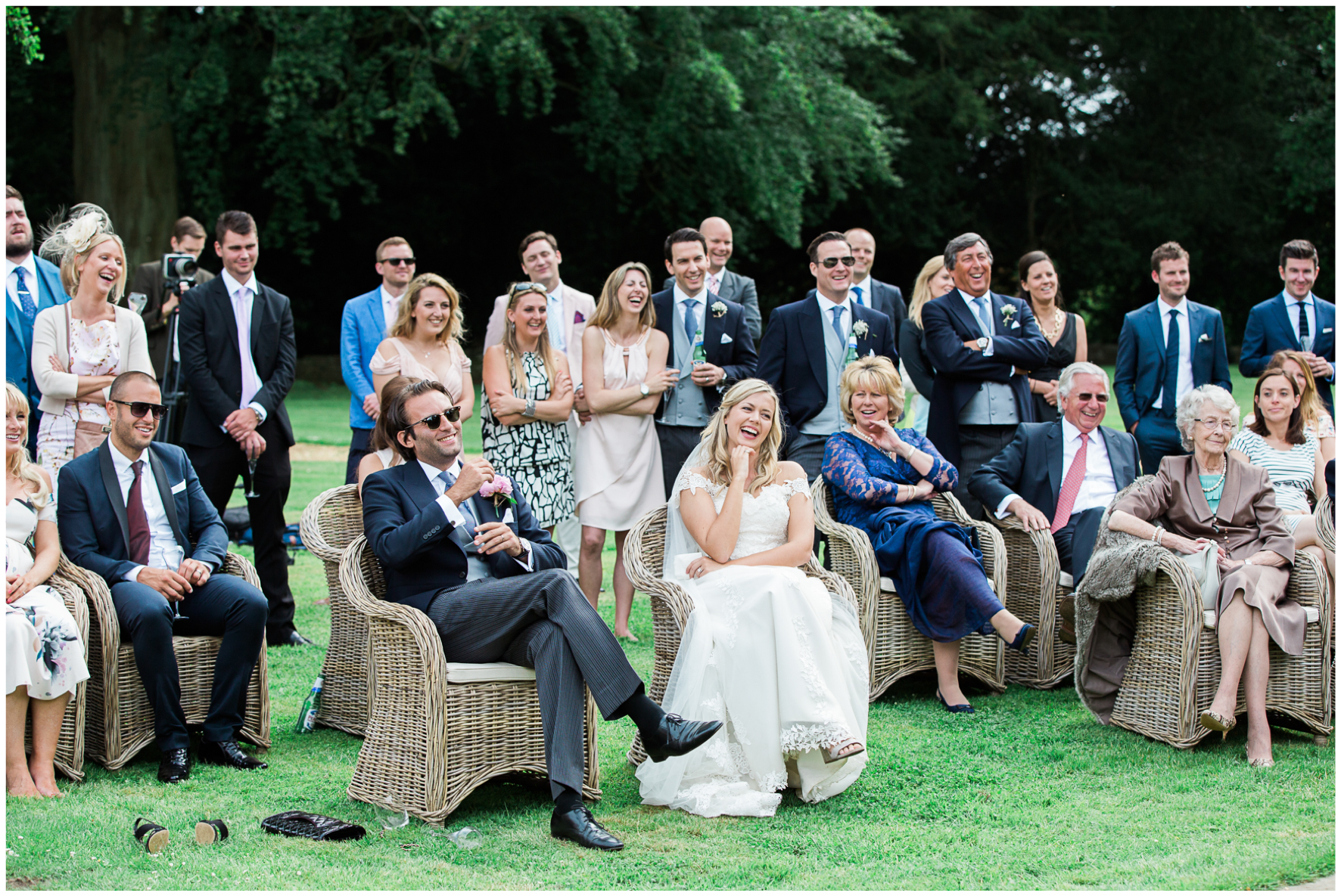 Aynhoe Park, wedding venue, speeches, guests, outdoor wedding,