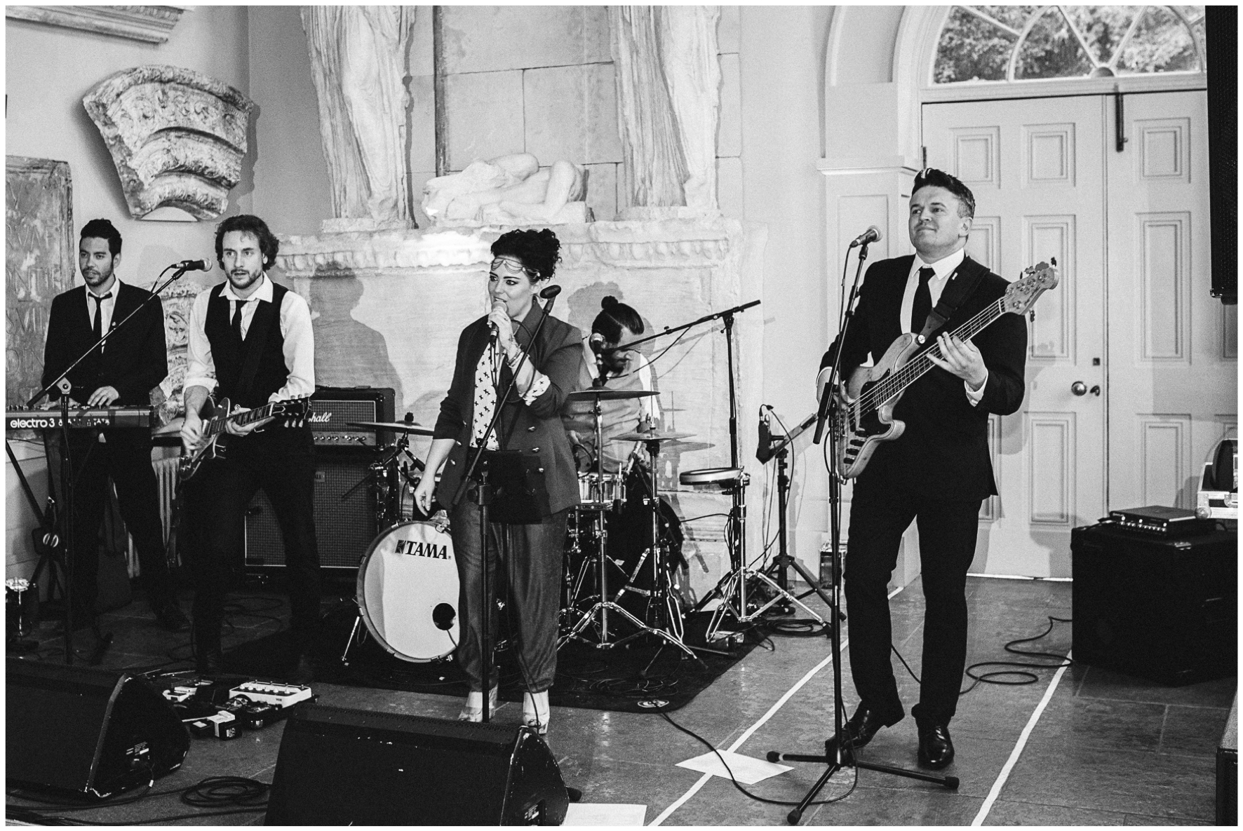 Aynhoe Park, wedding, orangery, wedding band