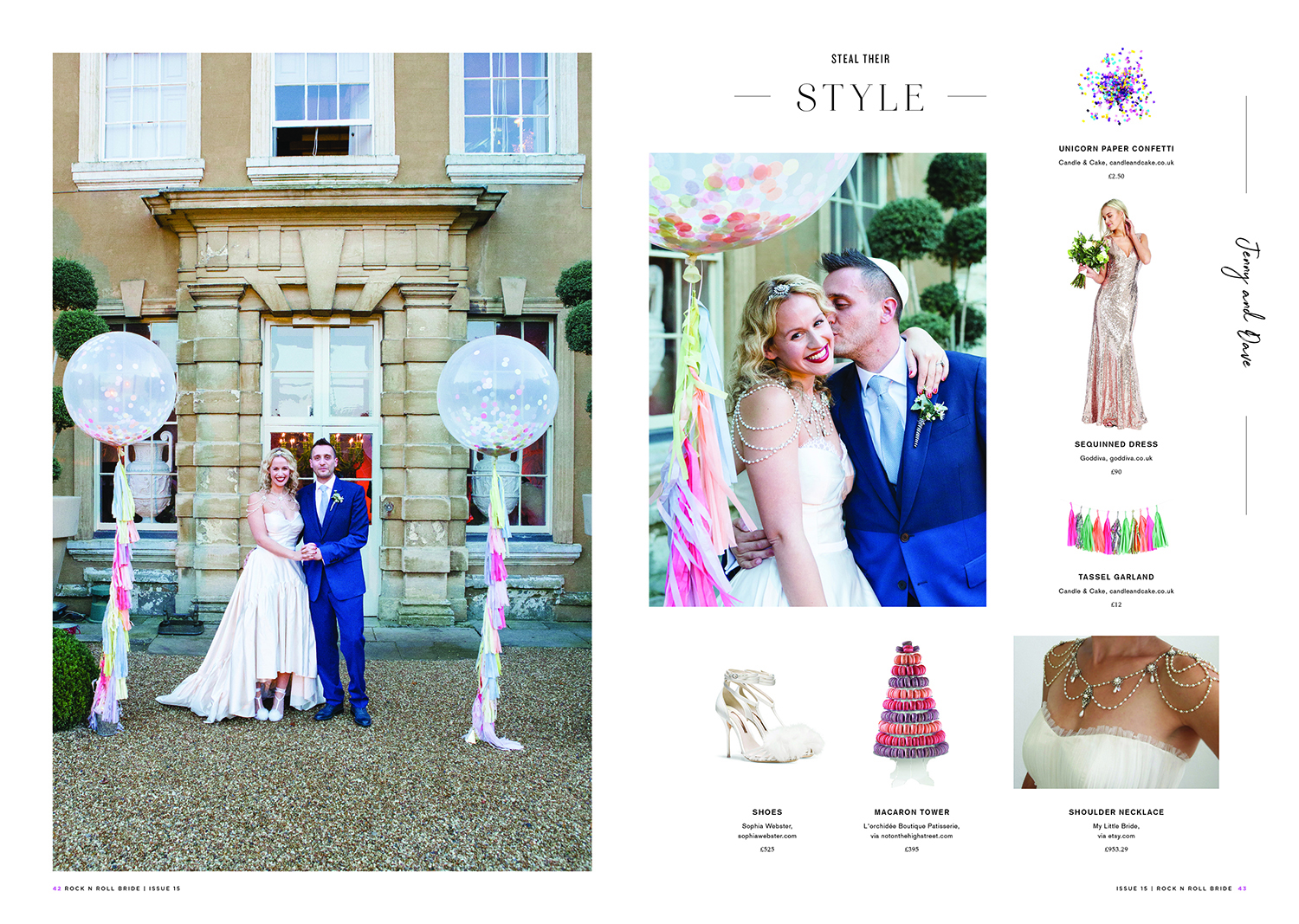Aynhoe Park wedding, colourful balloon wedding