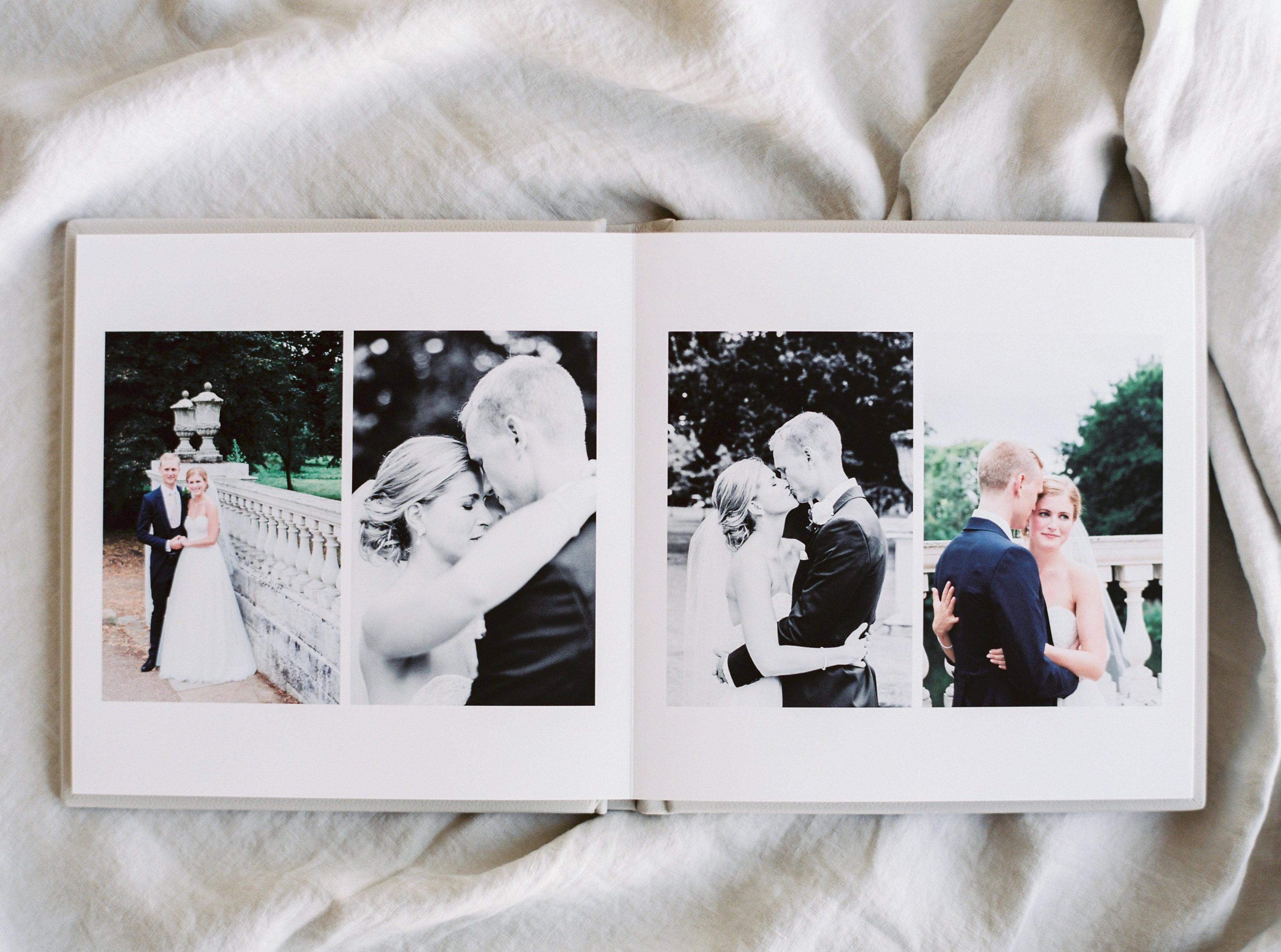 Lucy Davenport Photography, fine art wedding album, wedding album,