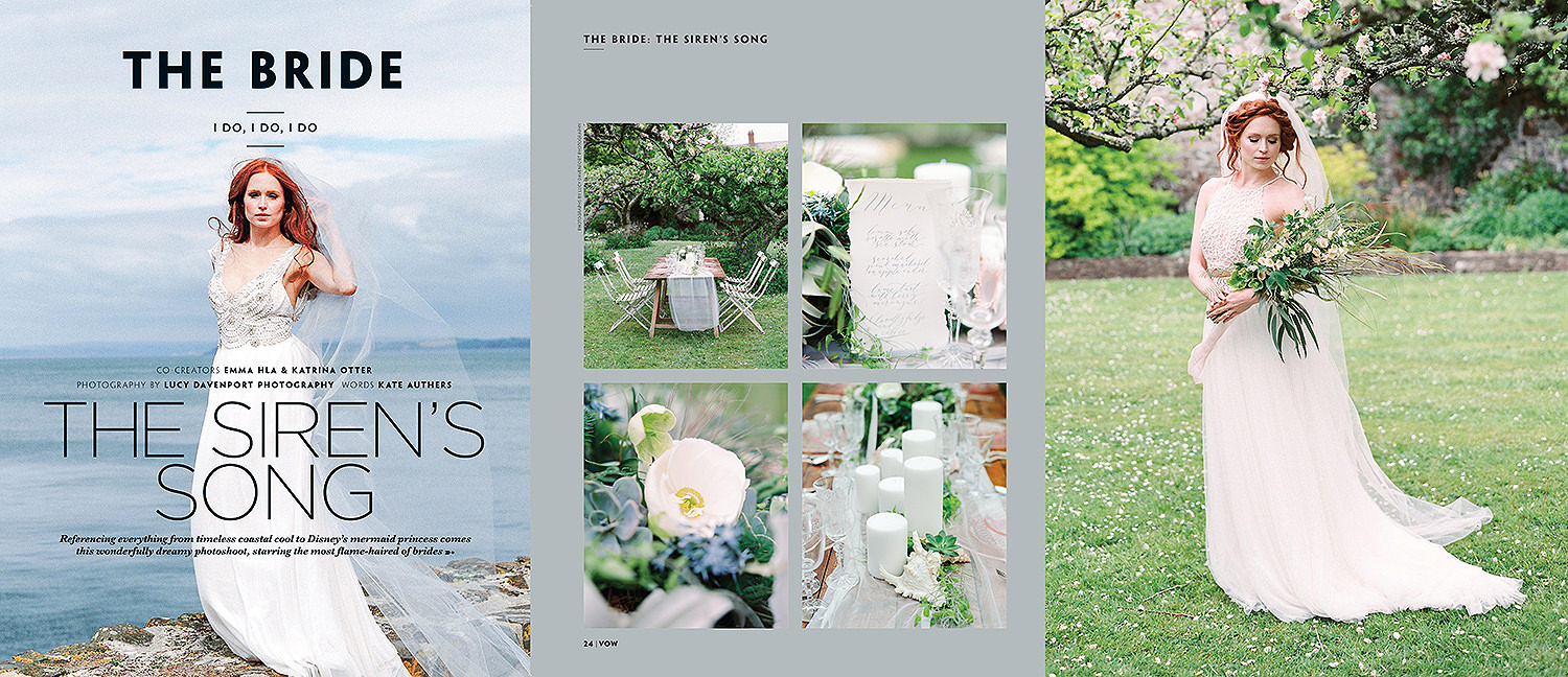 Lucy Davenport Photography, Sirens Song, Clovelly, Vow magazine