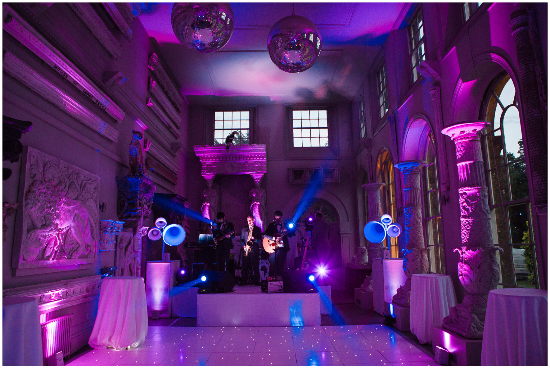 Lucy Davenport Photography, Aynhoe Park, Oxfordshire, wedding venue, Rock My Wedding, orangery, evening disco