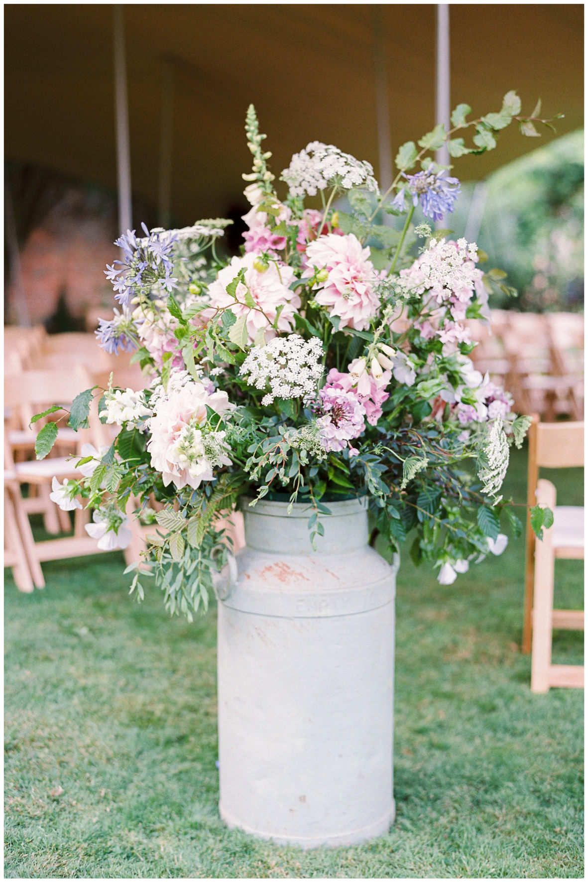 Lucy Davenport Photography, Green and Gorgeous, floral details, floral tips, milk urn