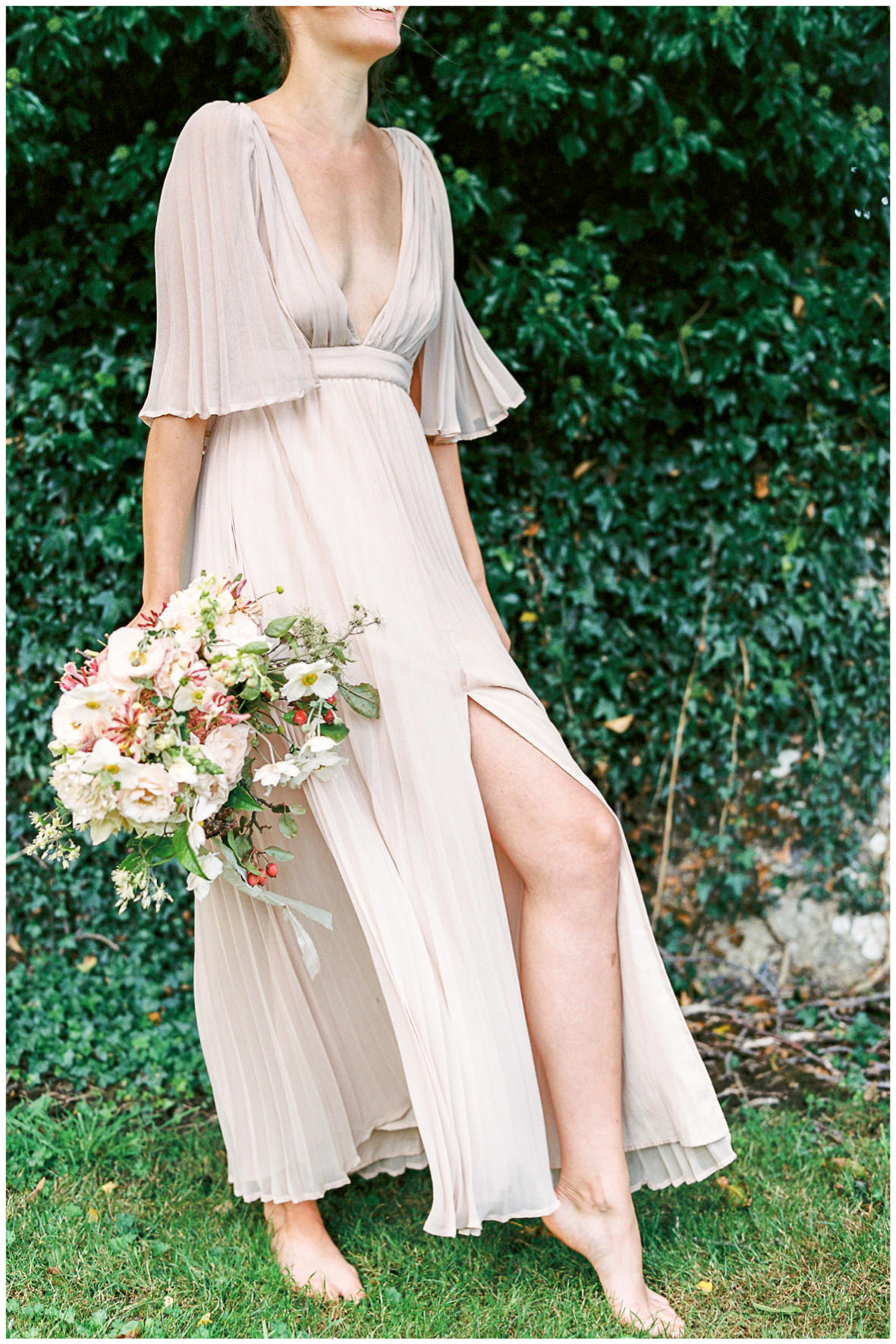 Lucy Davenport Photography, Once Wed, Home Creations, The Wedding Stylist, Verity & Thyme, coloured dress