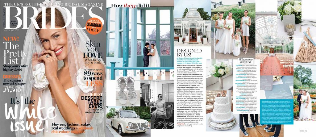 Brides magazine Horniman Museum wedding