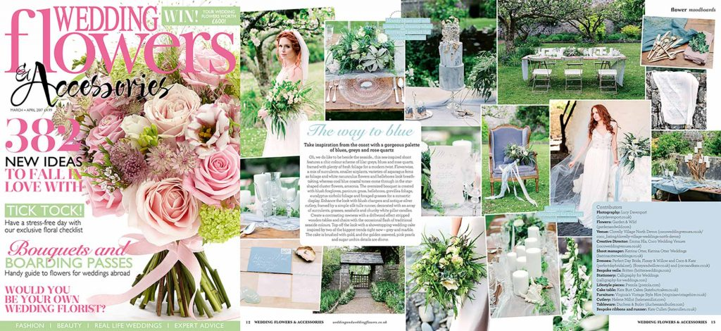 Wedding Flowers magazine Coastal inspiration