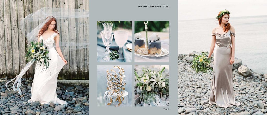 VOW magazine Siren Song wedding