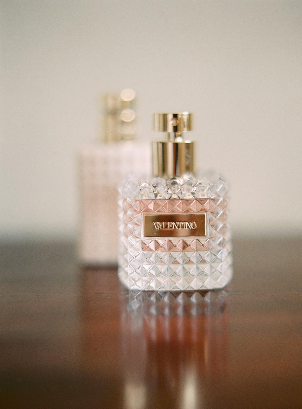 Valentino perfume bottle