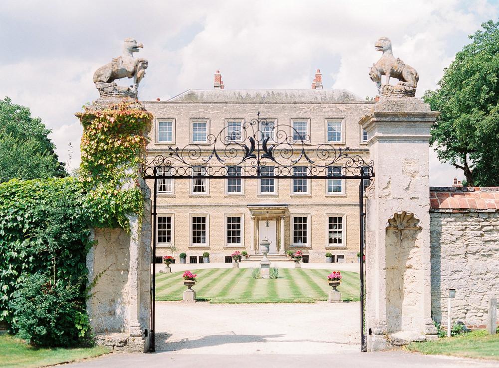 Newington House wedding venue exterior