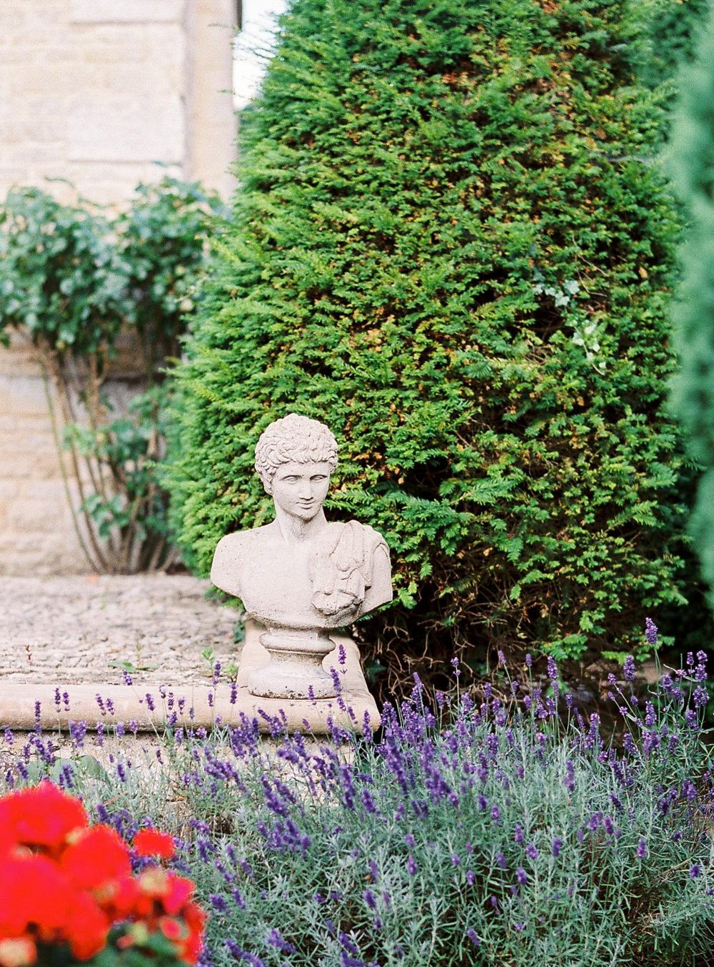 Garden statue Newington House
