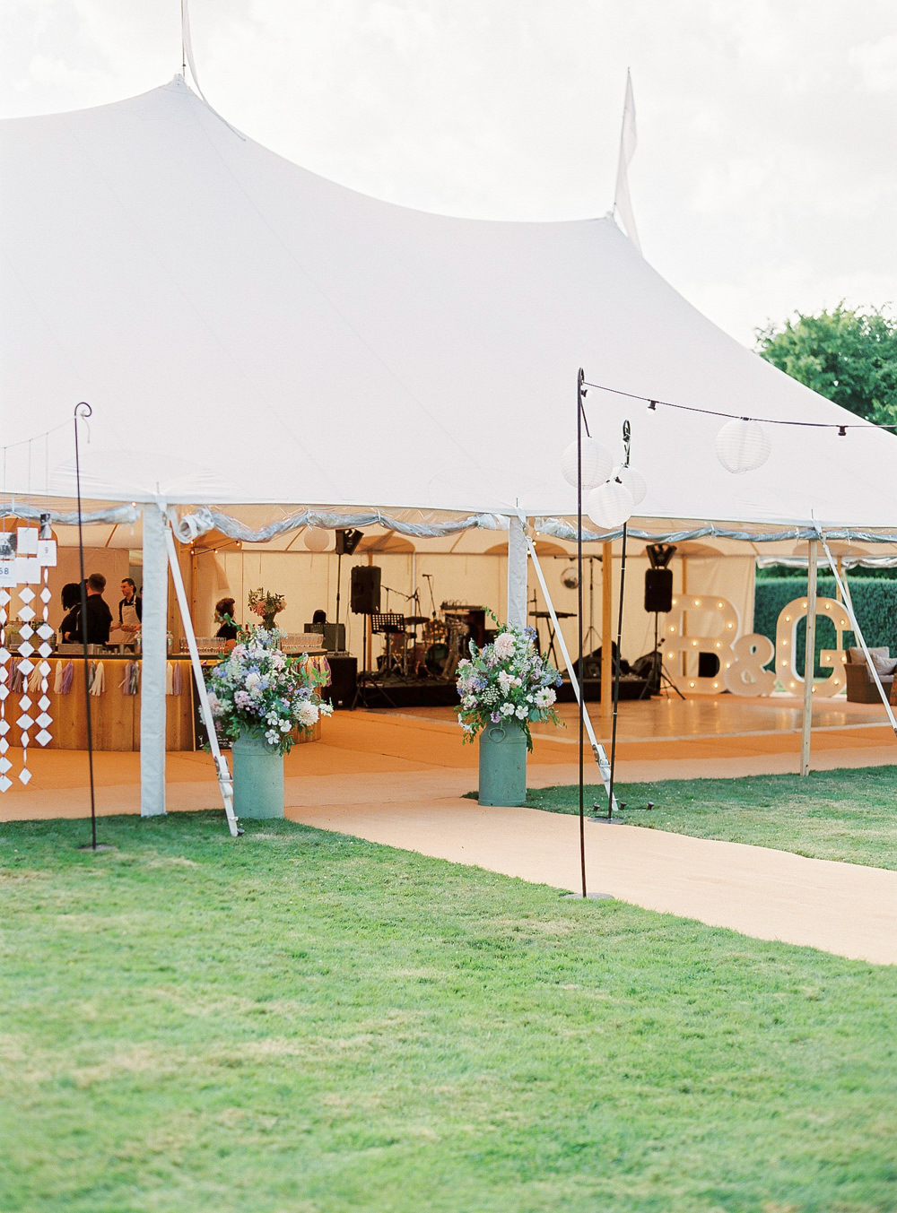 PapaKata sperry tent at Newington House