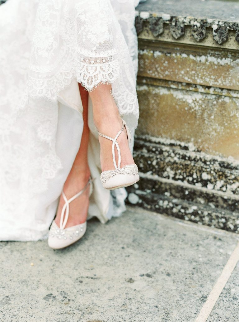 Emmy London weddings shoes