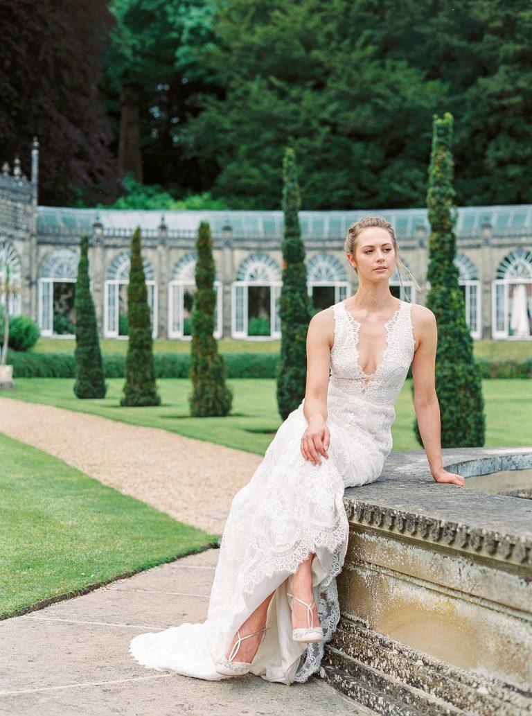 Suzanne Harward wedding dress