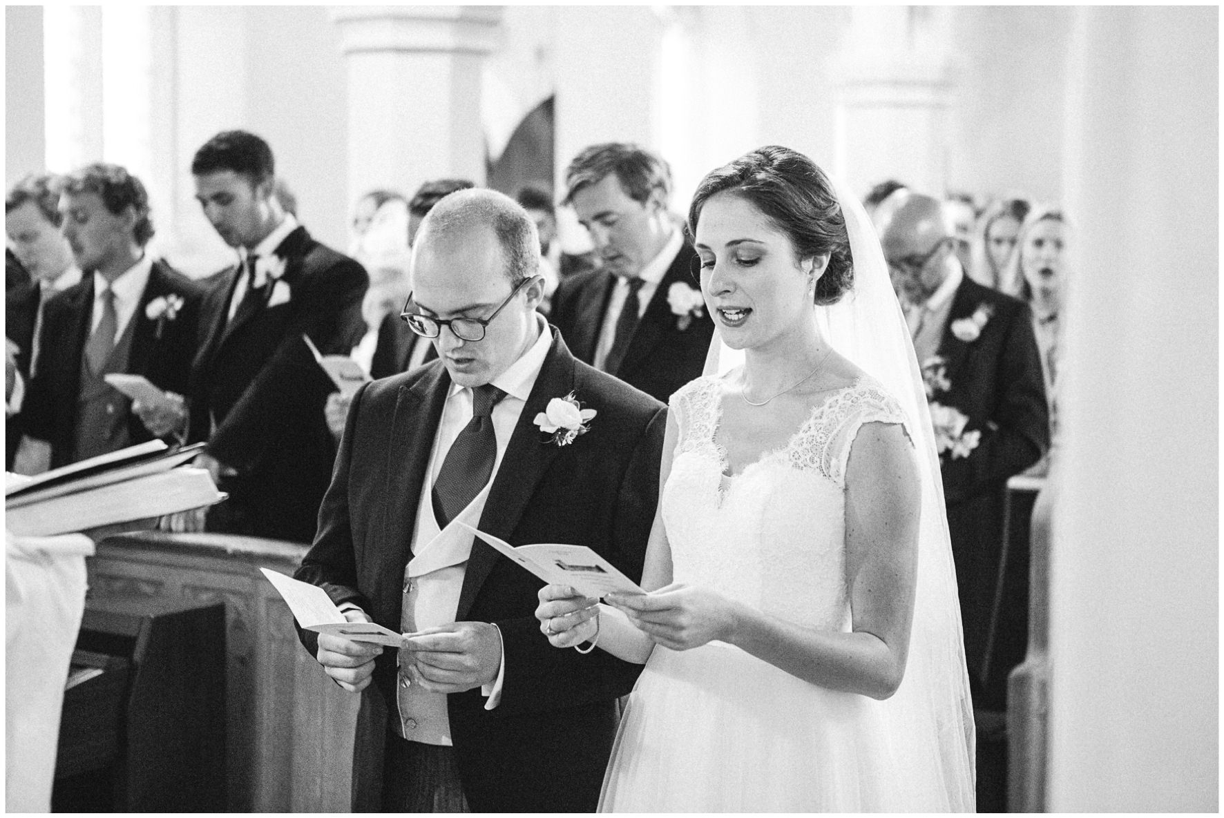 Lucy Davenport Photography, Cornwell Manor, wedding venue, Oxfordshire, Cotswold wedding, church wedding, Kingham, bride and groom, wedding ceremony