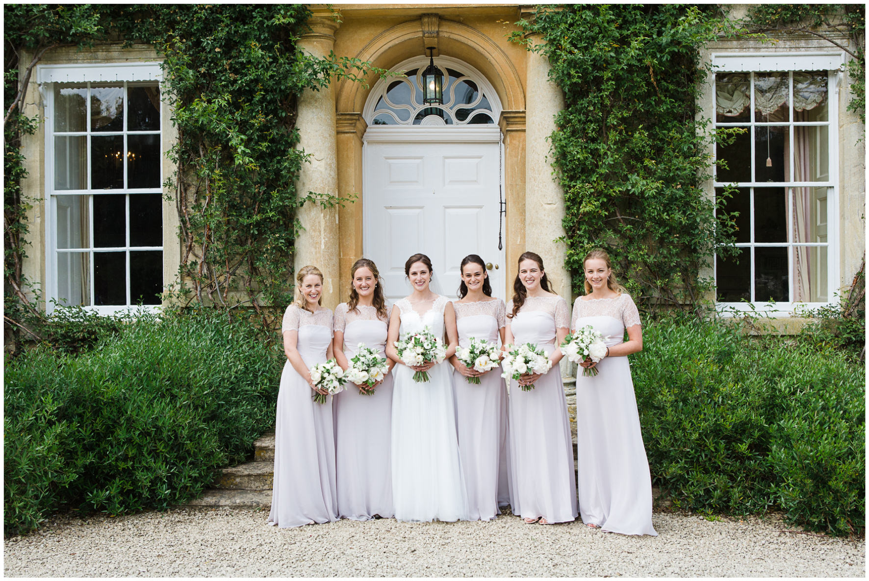 Lucy Davenport Photography, Cornwell Manor, wedding venue, Oxfordshire, Cotswold wedding, bridesmaids, bride, bridal party, girls