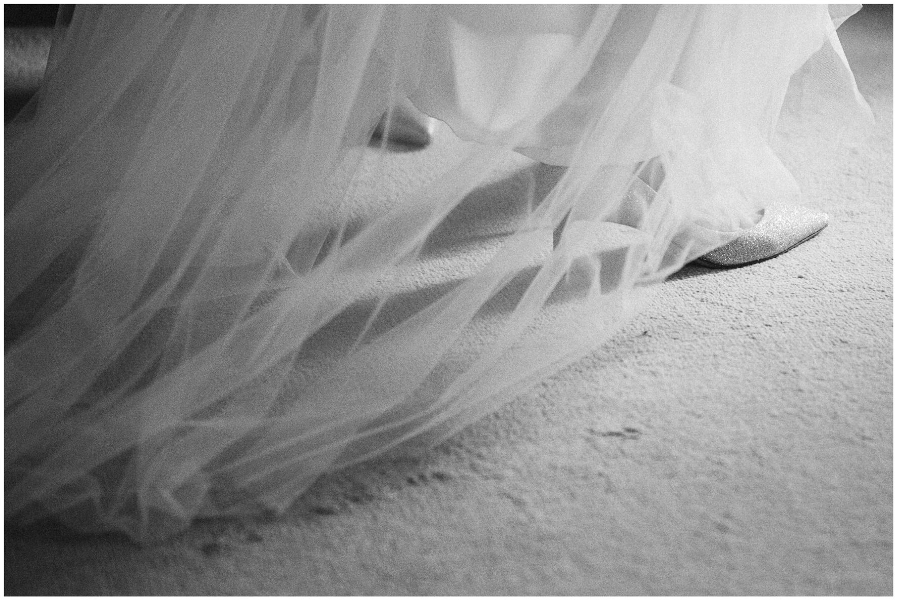 Lucy Davenport Photography, Cornwell Manor, wedding venue, Oxfordshire, Cotswold wedding, wedding dress, tulle, wedding shoes, Jimmy Choo