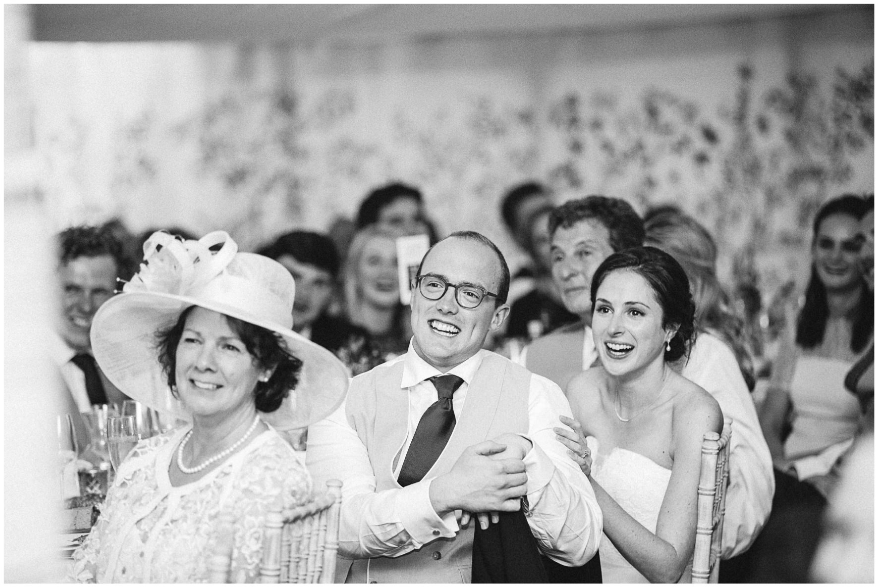 Lucy Davenport Photography, Cornwell Manor, wedding venue, Oxfordshire, Cotswold wedding, marquee wedding, marquee, wedding breakfast, speeches, bride and groom