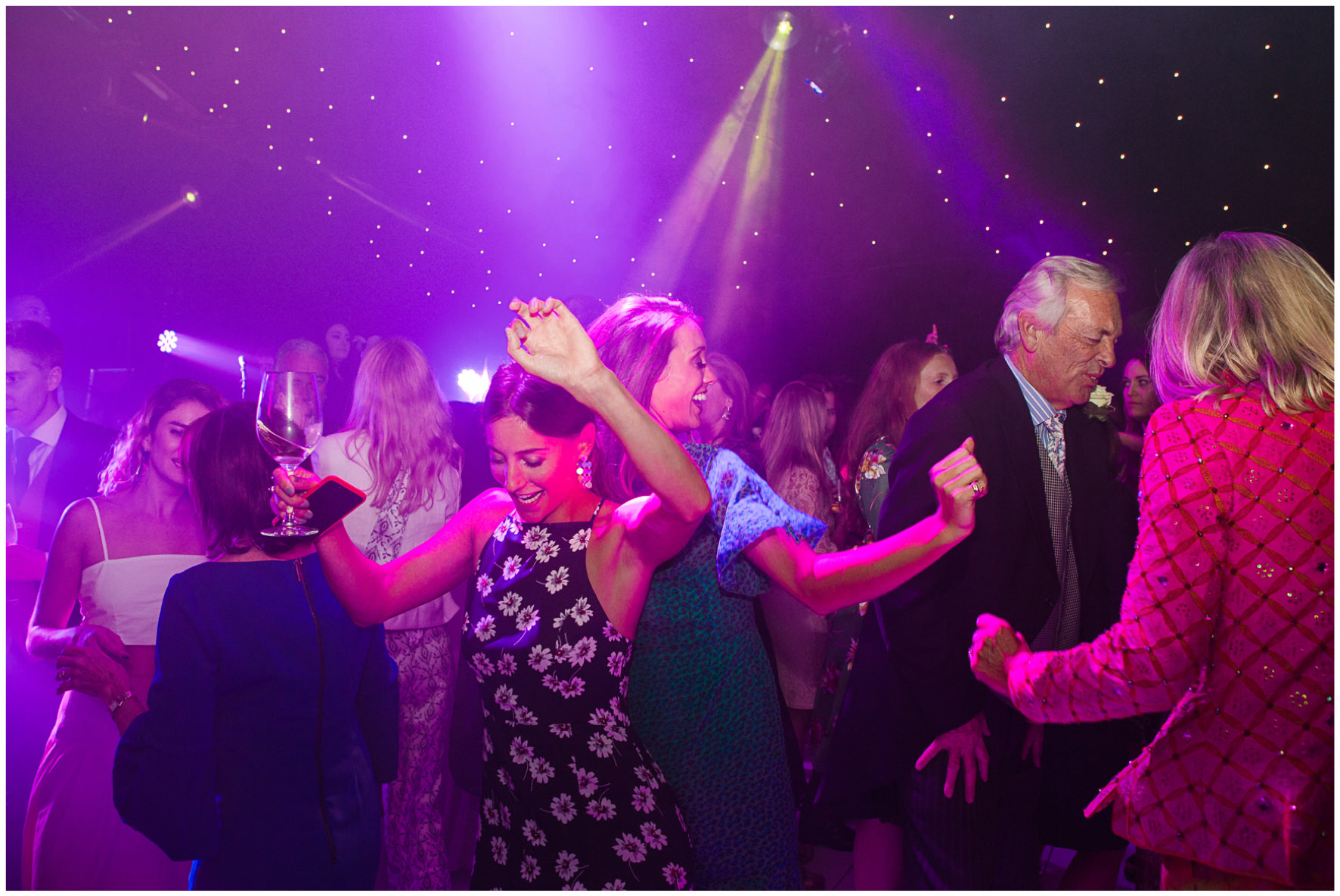 Lucy Davenport Photography, home wedding, marquee wedding, dancing