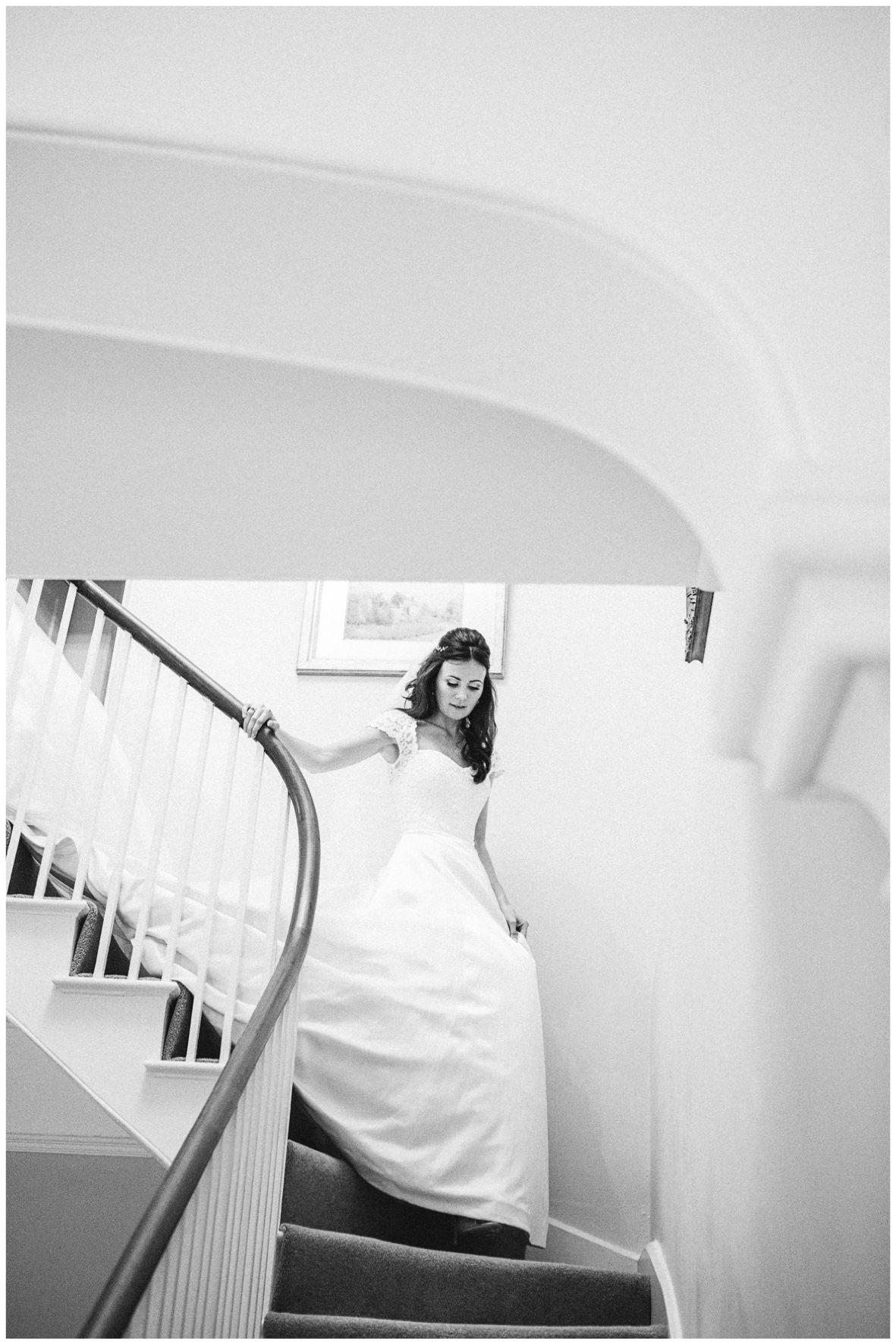 Lucy Davenport Photography, home wedding, marquee wedding, Caroline Castigliano, wedding dress, veil, the big reveal