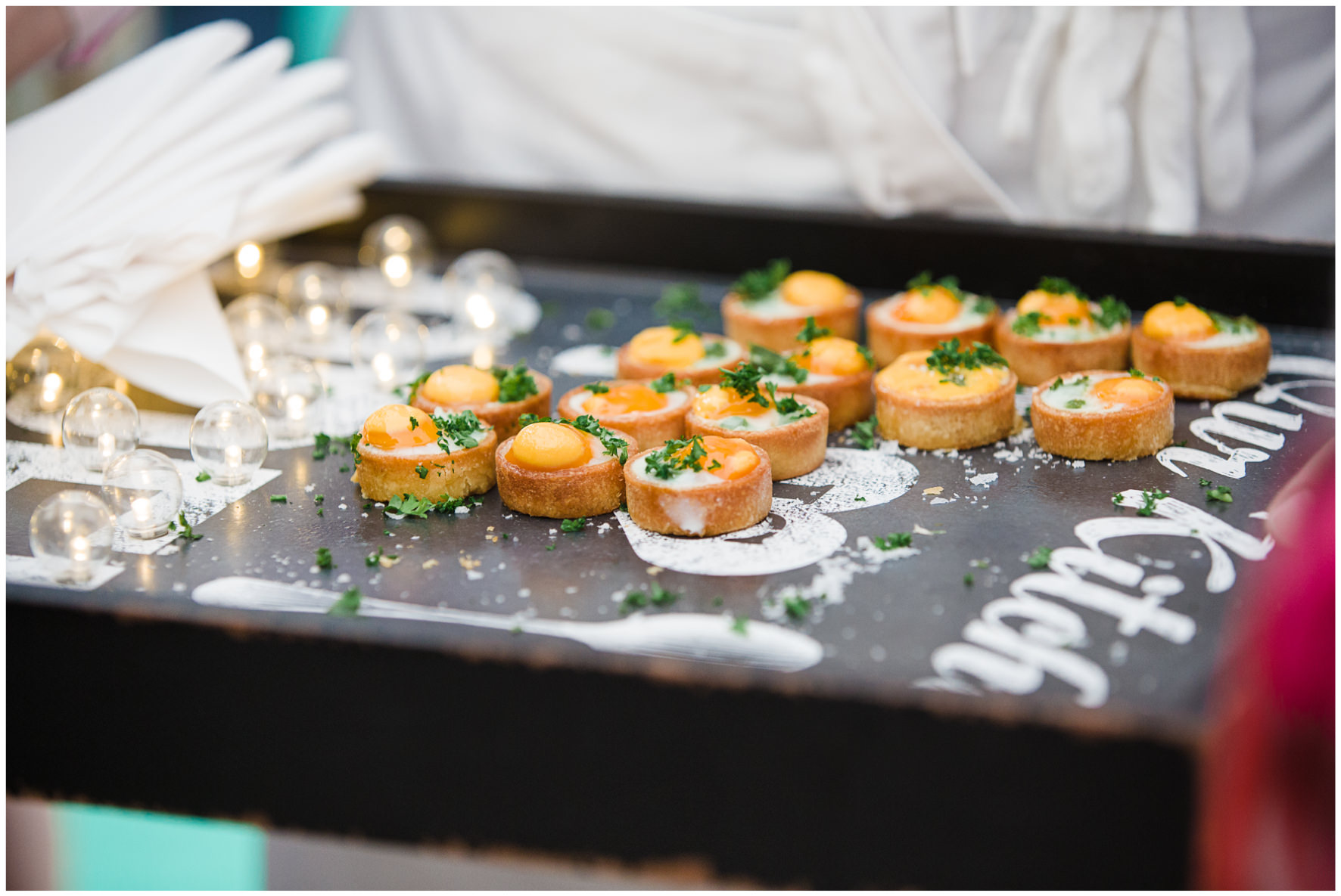 Lucy Davenport Photography, home wedding, marquee wedding, Goose on the Loose, canapes
