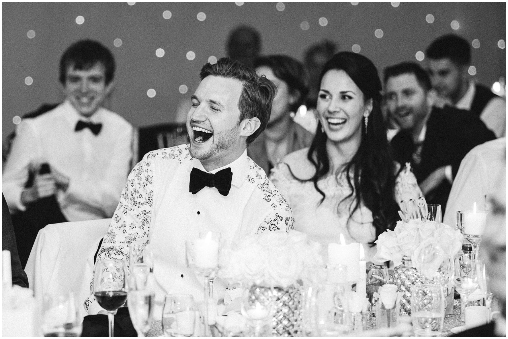 Lucy Davenport Photography, Katrina Otter Weddings, Chippenham Park, guests, bride and groom