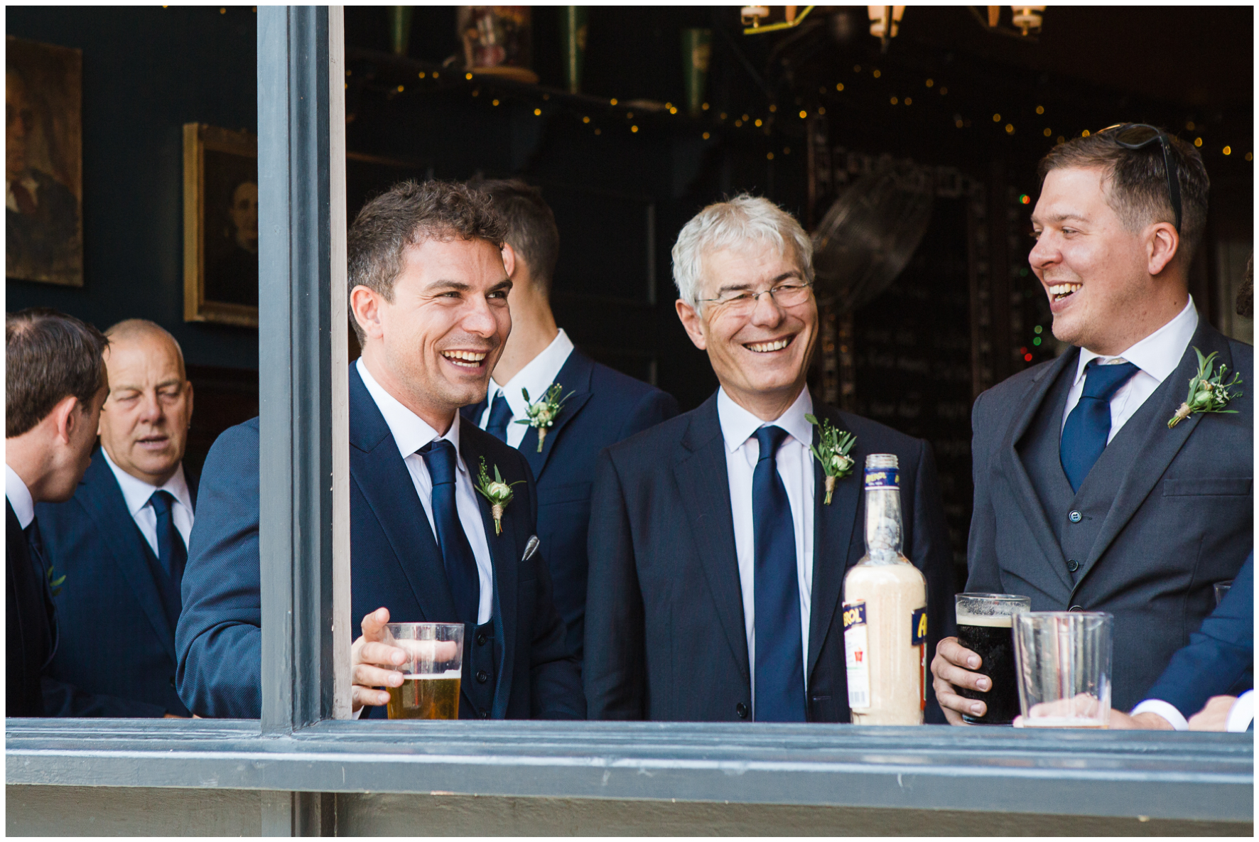 Lucy Davenport Photography, Town Hall Hotel, London wedding, Rock My Wedding, groomsmen, ushers lunch