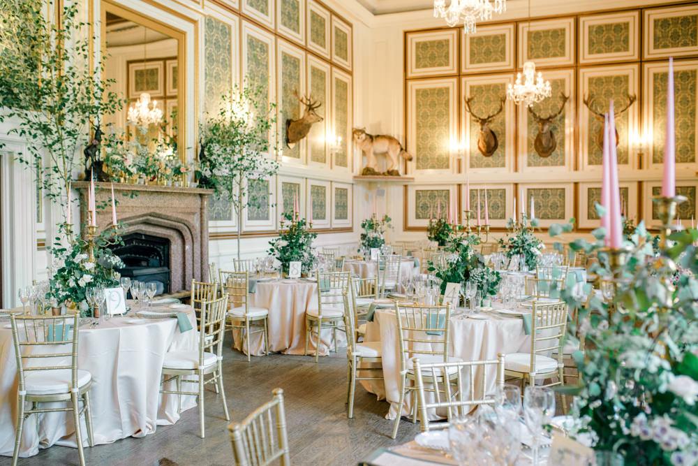 Drumtochty Castle wedding breakfast