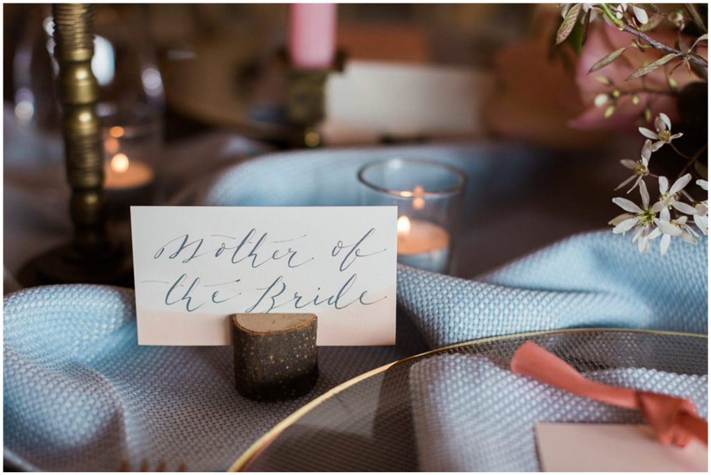 PapaKata tablescape with stationery